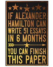 You can finish paper poster 11x17 Poster front