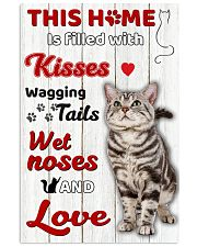 This home is filled with kisses 11x17 Poster front