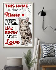 This home is filled with kisses 11x17 Poster lifestyle-poster-1