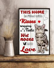 This home is filled with kisses 11x17 Poster lifestyle-poster-3