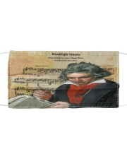 Moonlight Sonata Beethoven  Cloth face mask thumbnail