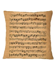 The Brandenburg Concertos Bach Square Pillowcase thumbnail