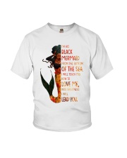 Im his black mermaid from the bottom of the sea Youth T-Shirt thumbnail