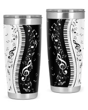 Black White Piano Music Note 2 20oz Tumbler thumbnail