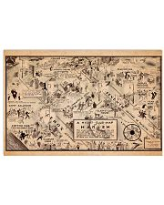 A Night Club Map of Harlem 17x11 Poster front