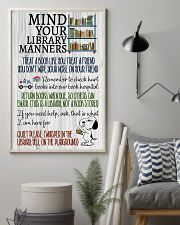 Library manners 11x17 Poster lifestyle-poster-1