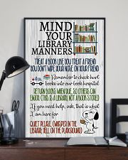 Library manners 11x17 Poster lifestyle-poster-2