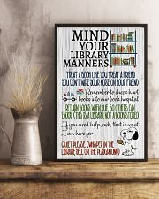 Library manners 11x17 Poster lifestyle-poster-3