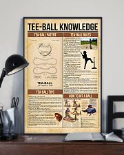 Tee-ball knowledge poster 11x17 Poster lifestyle-poster-2