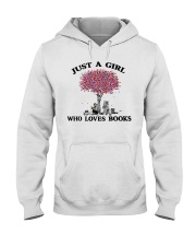 Just A Girl Who Loves Books Read Hooded Sweatshirt thumbnail