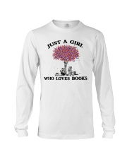 Just A Girl Who Loves Books Read Long Sleeve Tee thumbnail
