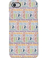 Ballroom Dancing Word Art Phone Case tile