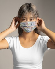 Ballroom Dancing Word Art Cloth face mask aos-face-mask-lifestyle-16