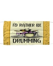 Id Rather Be Drumming Cloth face mask thumbnail