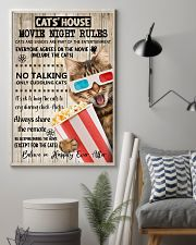 Movie night rules poster 11x17 Poster lifestyle-poster-1