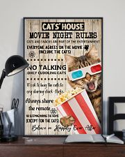 Movie night rules poster 11x17 Poster lifestyle-poster-2