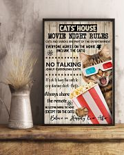 Movie night rules poster 11x17 Poster lifestyle-poster-3