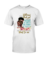 Im a well read black girl I have 3 sides Classic T-Shirt thumbnail