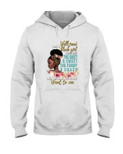 Im a well read black girl I have 3 sides Hooded Sweatshirt thumbnail