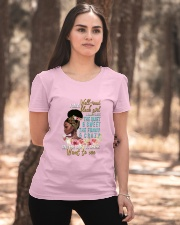 Im a well read black girl I have 3 sides Ladies T-Shirt apparel-ladies-t-shirt-lifestyle-05