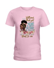 Im a well read black girl I have 3 sides Ladies T-Shirt front
