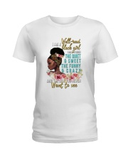 Im a well read black girl I have 3 sides Ladies T-Shirt tile