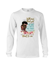 Im a well read black girl I have 3 sides Long Sleeve Tee thumbnail