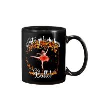 Ballet autumn Mug thumbnail