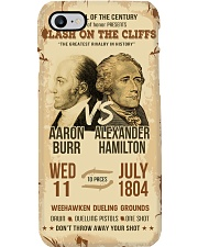 Hamilton Burr Duel Poster 2 Phone Case thumbnail