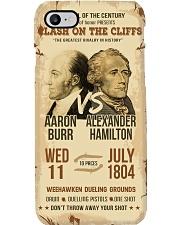 Hamilton Burr Duel Poster 2 Phone Case tile