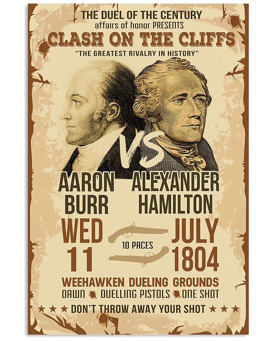 Hamilton Burr Duel Poster 2 11x17 Poster