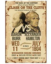 Hamilton Burr Duel Poster 2 11x17 Poster front