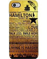 Hamilton lessons phonecase Phone Case i-phone-8-case
