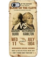 Hamilton Burr Duel Poster Phone Case tile