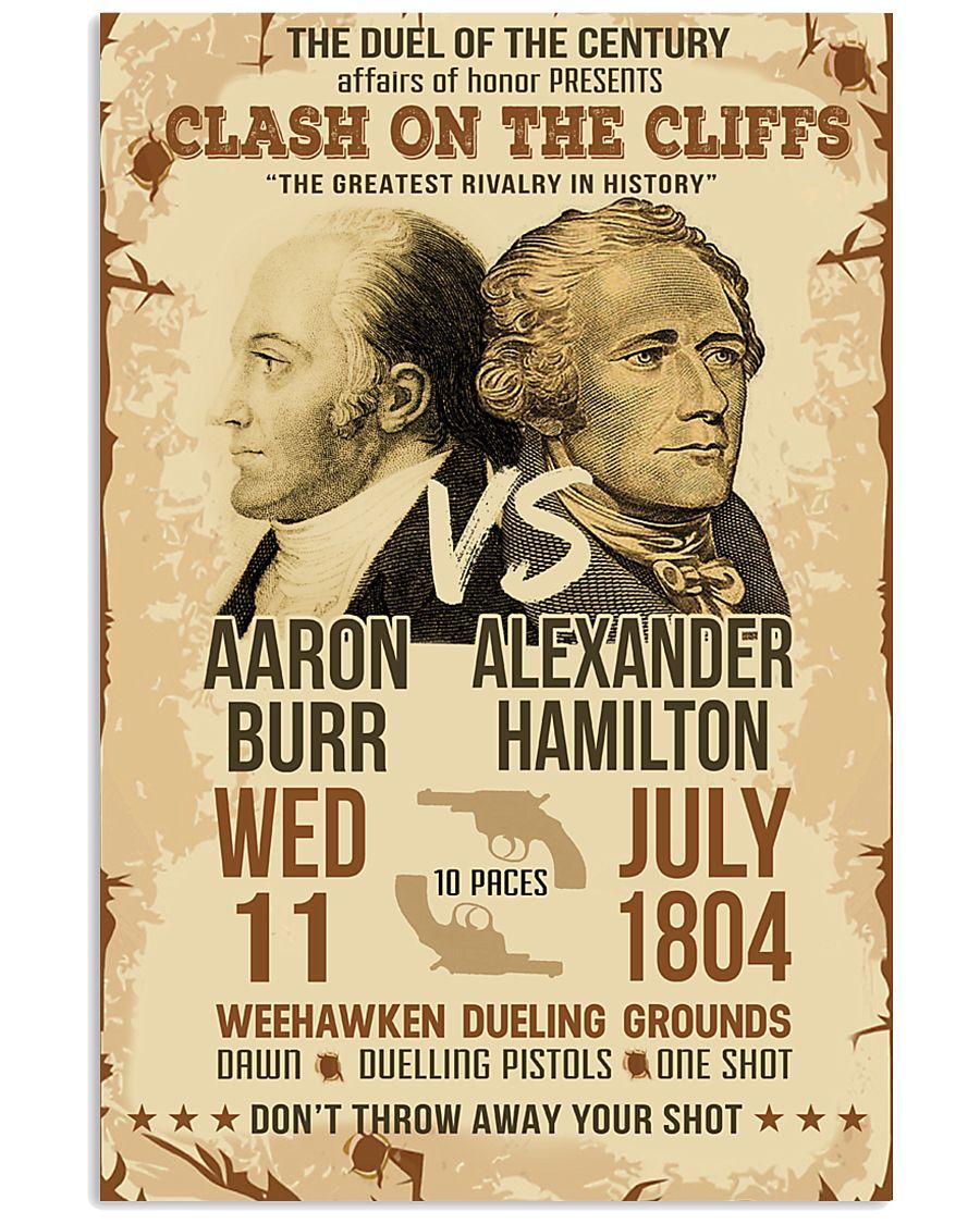 Hamilton Burr Duel Poster 11x17 Poster