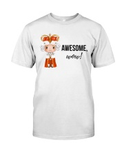 Awesome wow Shirt Classic T-Shirt front