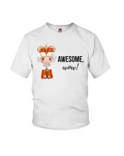 Awesome wow Shirt Youth T-Shirt thumbnail