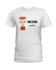 Awesome wow Shirt Ladies T-Shirt thumbnail