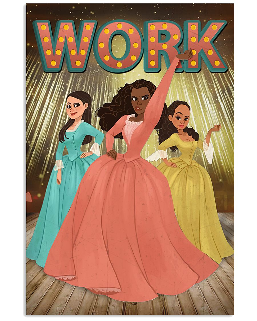 Schuyler sisters poster 11x17 Poster