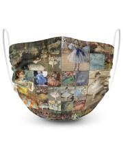 Edgar Degas Ballet blanket 2 Layer Face Mask - Single thumbnail
