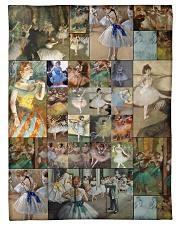 "Edgar Degas Ballet blanket Small Fleece Blanket - 30"" x 40"" front"