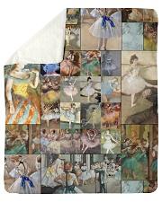"""Edgar Degas Ballet blanket Sherpa Fleece Blanket - 50"""" x 60"""" thumbnail"""