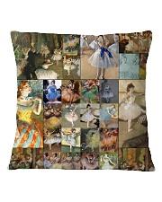 Edgar Degas Ballet blanket Square Pillowcase thumbnail