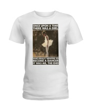 Once upon a time dancer poster Ladies T-Shirt thumbnail