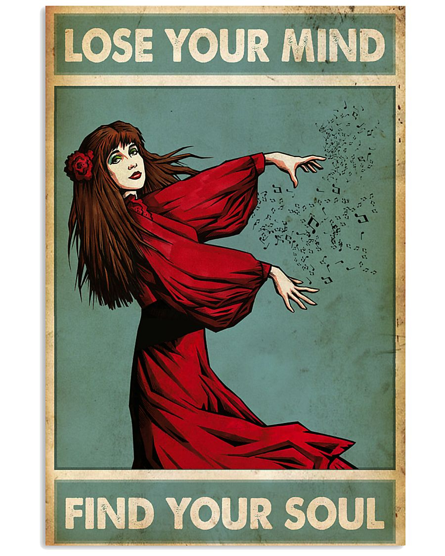 Find your soul Kate Bush 11x17 Poster