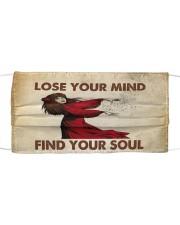 Find your soul Kate Bush Cloth face mask thumbnail