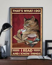 That's what I do I read and I know things poster 11x17 Poster lifestyle-poster-2