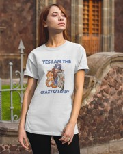 Yes Im the crazy cat lady Classic T-Shirt apparel-classic-tshirt-lifestyle-06