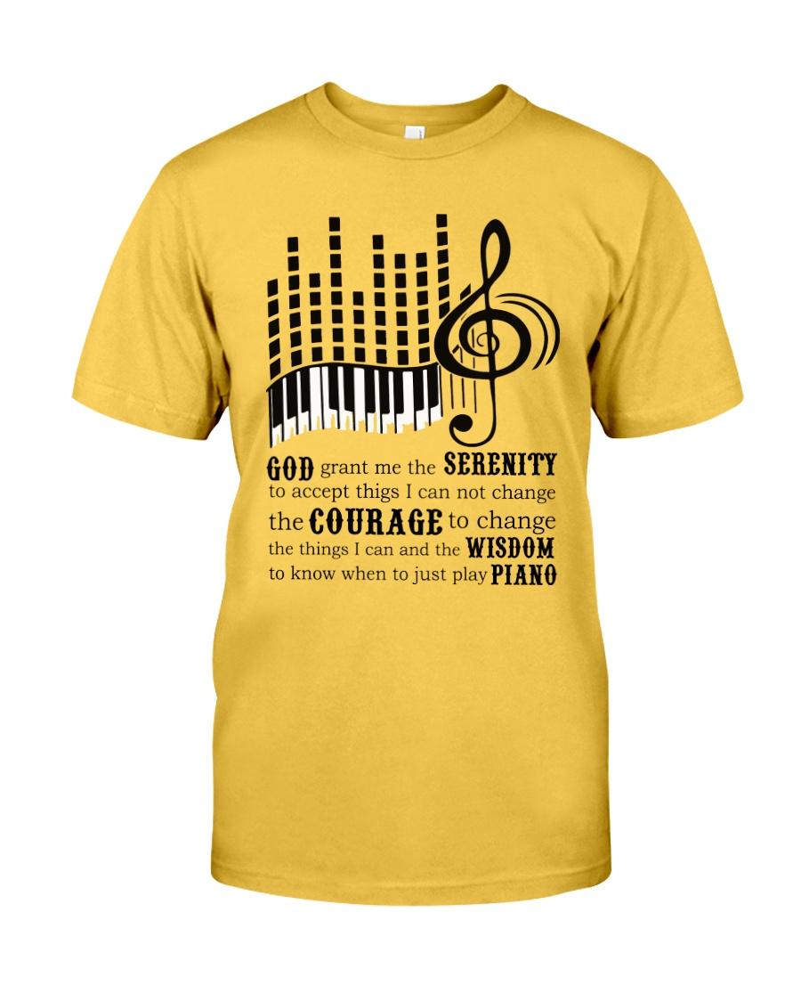 Piano Player Classic T-Shirt
