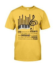 Piano Player Classic T-Shirt front